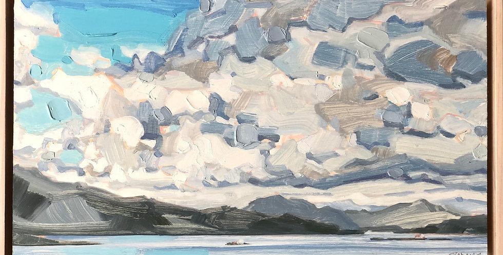 Lomond Cloudscape - Oil on Panel