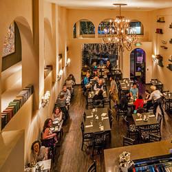 Pushkin Russian Restaurant Dining Room