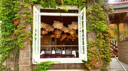 Acquavite window to Dining Room