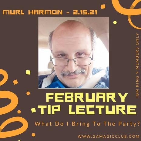 February: Murl Harmon
