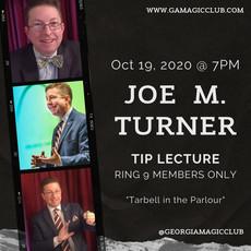 October: Joe M. Turner