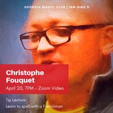 April: Christophe Fouquet