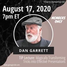 August: Dan Garrett