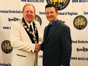Michael Finney and Ken Scott
