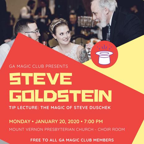 January: Steve Goldstein