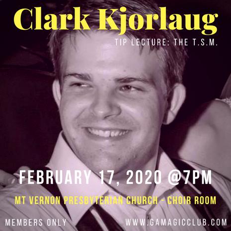 February: Clark Kjorlaug