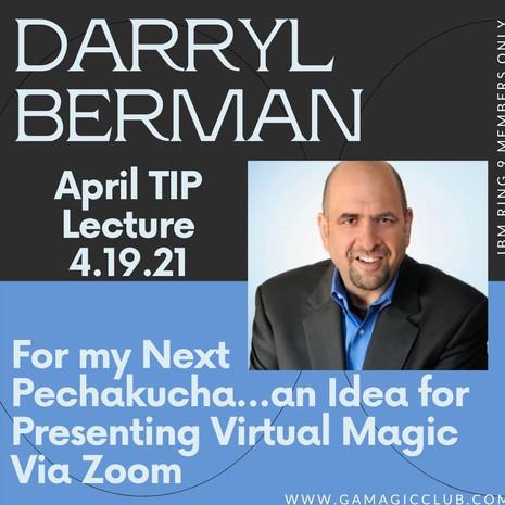 April: Darryl Berman