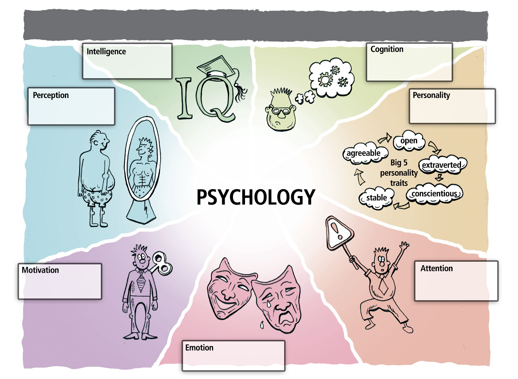 psychology figure colour