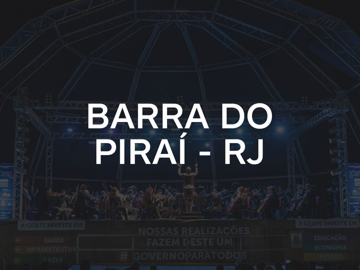 BARRA DO PIRAÍ - RJ