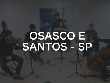 OSASCO E SANTOS - SP