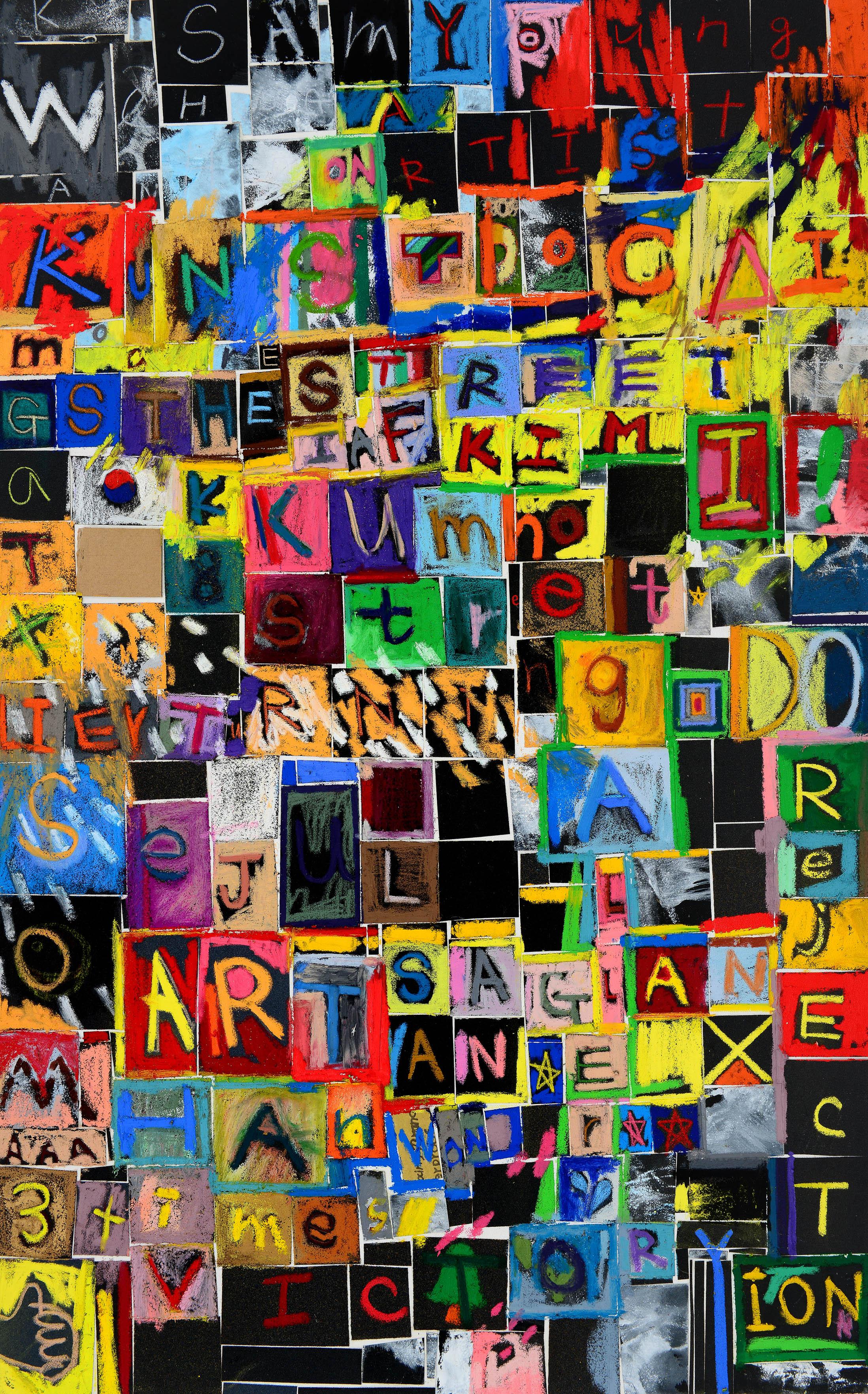 6.My_dream_116.8×72.7cm,_Acrylic,_oil_bar_on_canvas_2014