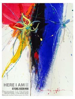 Here I Am III-2  60.5x76cm Acrylic on canvas 2017