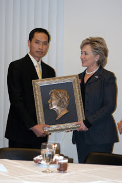 with hillary