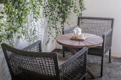 Outdoor seating - Common Space