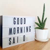 Good morning Saigon