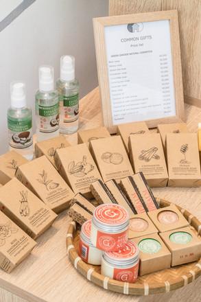 Handmade cosmetics from Green Garden