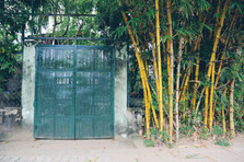 Bamboo gate, District 2, Saigon