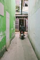 Small alley in District 10, Saigon