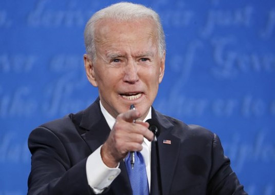 Een vliegende beurskoers met Biden als Amerikaanse president.