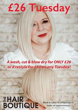 £26 tuesday