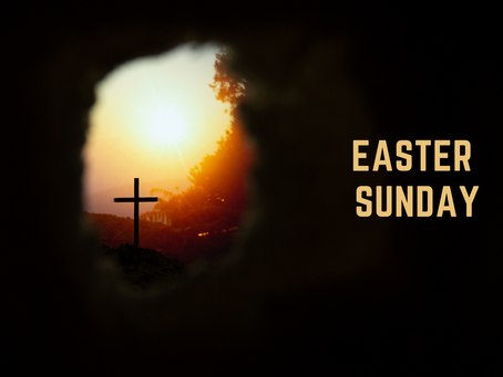 Easter Sunday - 12 April 2020