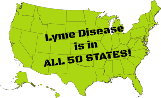 Lyme Disease is in all 50 states