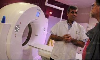 Inauguration du nouveau scanner à l'Hôpital du Gier