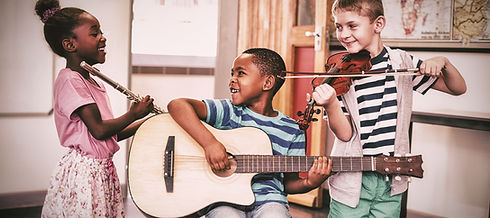 children-playing-musical-instruments-in-