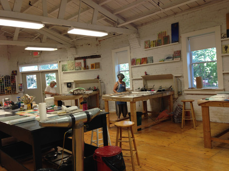 Visiting Artist/Teacher at R&F Handmade Paint 2015