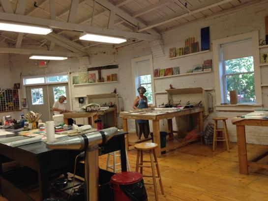 Visiting Artist/Teacher at R&F Handmade Paint 2015