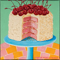 Cherry+Cake+on+a+Pedestal+-+8in+x+8in+.j