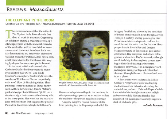 2013 Art New England Review