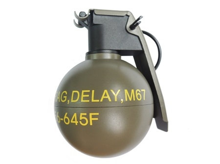FCW M67 HAND GRENADE GAS TANK CHARGER