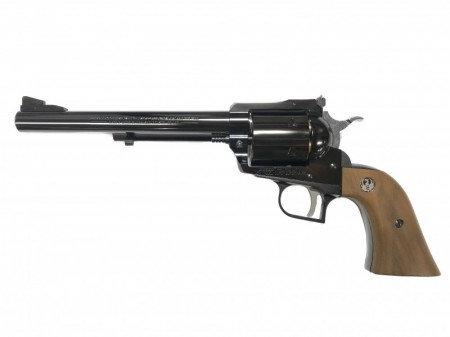 Marushin Super Black Hawk 7.5 inches Gas Revolver WDB w Real Wood Grip Version
