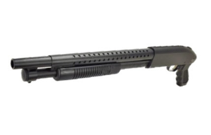 AGM M500 Single Shot Air Cocking Shotgun Shorty Black