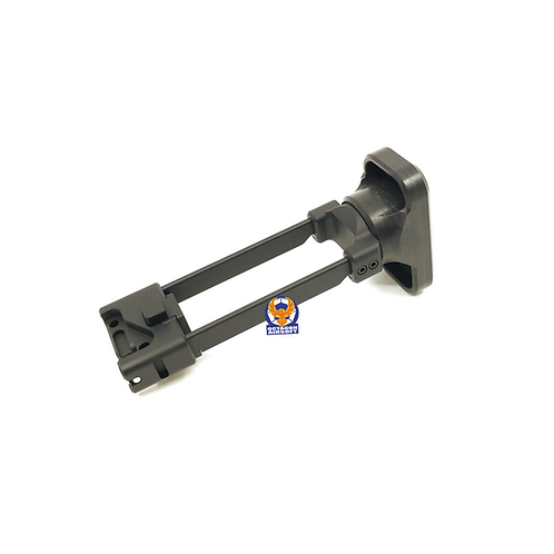 Artisan CNC Retractable Stock for KSC / KWA MP9 / TP9 BK (NOT FIT  2020 Version)