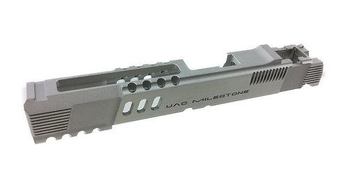 UAC 6065 Aluminium Slide For Marui / Marui Cloned Hi Capa Silver