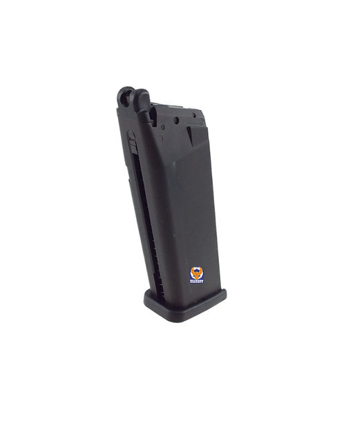 KWA 22 rounds Gas Magazine for KRISS Vector SMG GBB BK without Marking
