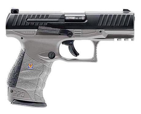 UMAREX Walther Licensed Metal Slide PPQ M2 GBB Pistol Grey