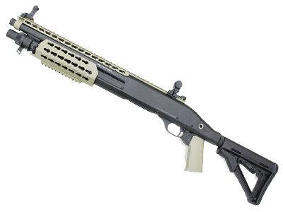 CYMA CM366 Benelli M3 Spring Powered Shotgun Tan