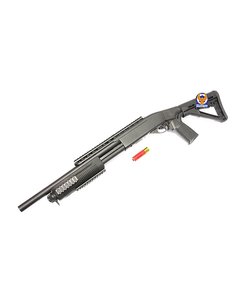 A&K M870 3 Rounds Burst Air Cocking Shotgun SXR-002