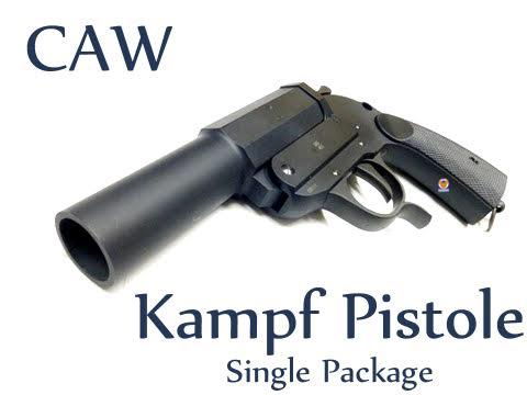 CAW German Kampfpistole Gas Launcher (27MM Grenade)