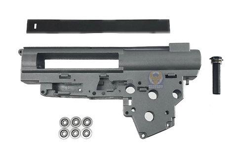 Flintlock Custom Workshop 9MM Metal Bearing QD Gear Box Shells For Version III