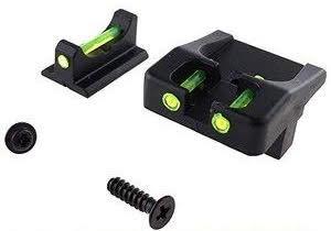 FCW (FLW) Fluorescent Sight Set For Glocks