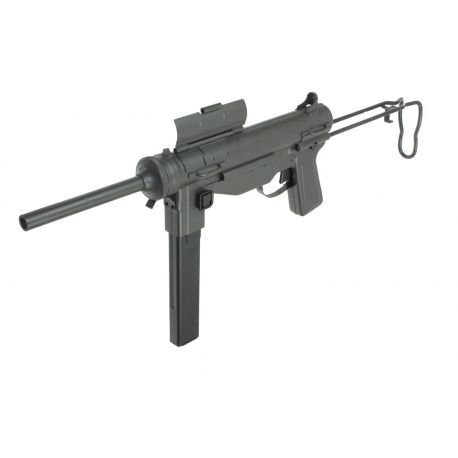 S&T Steel Frame M3A1 Grease Gun SMG AEG (Olive Drab)