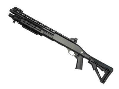 CYMA CM366 Benelli M3 Spring Powered Shotgun Black