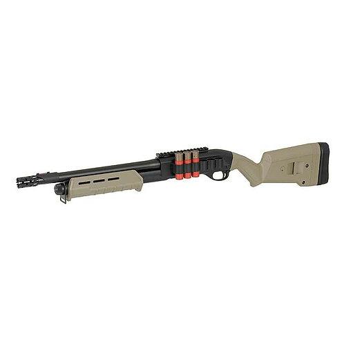 CYMA CM356 M870 MP Style Spring Powered Shotgun Tan