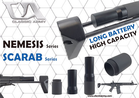 CA A660M Nemesis Stock Adaptor (For long type battery)