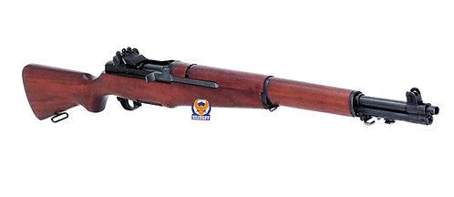 Marushin M1 Garand (6mm) Walnut Real Wood  (Red Brown)