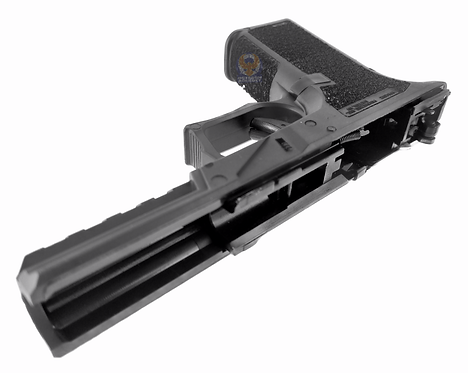 Flintlock Custom Workshop P80 Frame With Internal Parts for Glock 17 Black